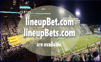 Best betting domain name lineupbets.com is for sale