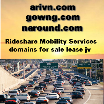 ridesharing domain names for sale lease jv partnership